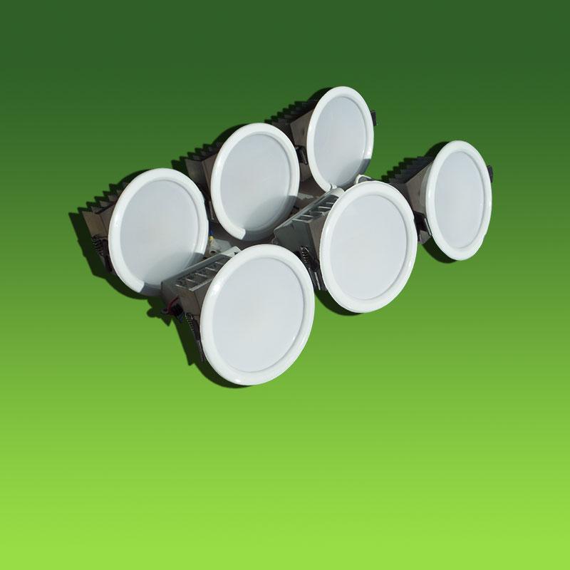 Врезной светильник 10W