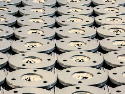 Антвандальний світильник із сталі.