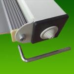 Накладний LED прожектор CORSAR W. Регулювання.