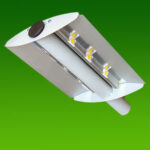 Вуличний консольний світлодіодний світильник 150Вт