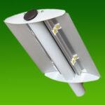 Вуличний консольний світлодіодний світильник 100Вт